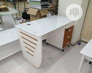 White Glass and Wood Drawer With Brown Conbinetion | Furniture for sale in Lagos State, Ojo