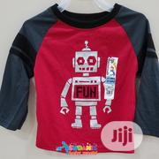 Garanimals Toddler Boy Longsleeve Red Shirts | Children's Clothing for sale in Lagos State, Alimosho