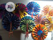 Ankara/Leather Handfan | Clothing Accessories for sale in Lagos State, Lagos Mainland