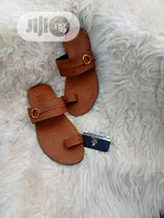 Brown Leather Slippers For Men | Shoes for sale in Lagos State, Lagos Mainland