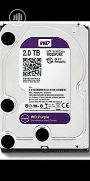 2tb WD Purple Survellance | Computer Hardware for sale in Lagos State, Ikeja