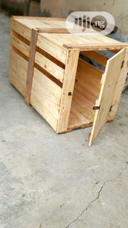 Pallet Wooden Dog House For Sale | Pet's Accessories for sale in Lagos State, Lagos Mainland