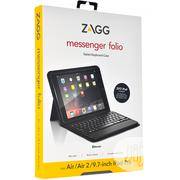 ZAGG Messenger Folio Case With Bluetooth Keyboard 9.7- Black | Accessories for Mobile Phones & Tablets for sale in Lagos State, Ikeja