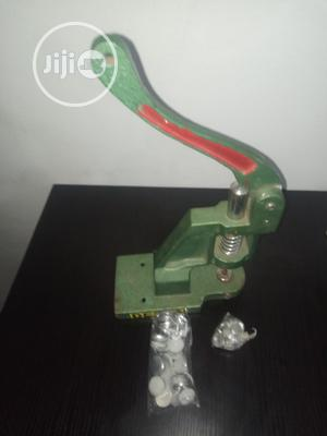 Beading And Cover Buttons Machine