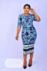 Quality Thick Lycra Floral Dress | Clothing for sale in Lagos State, Lagos Island