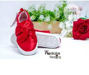 Kiddies H M Red Stylish Sneakers | Children's Shoes for sale in Lagos State, Ikeja