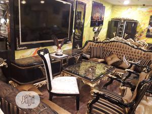 1 Set Of Versace Sofa With Complete Amenities In Ojo Furniture