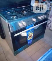 Brand New MAXI 5 Gas Burners With Big Oven Automatic Blue Flame | Restaurant & Catering Equipment for sale in Lagos State, Ojo