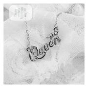 Queen Letter Pendant Necklace Silver | Jewelry for sale in Ogun State, Abeokuta South