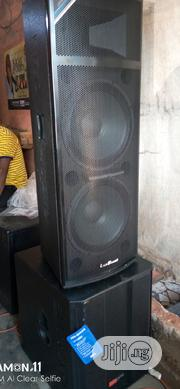 1 Pair Of Single Sub With 1 Pair Of Double 15 Speaker   Audio & Music Equipment for sale in Lagos State, Ojo