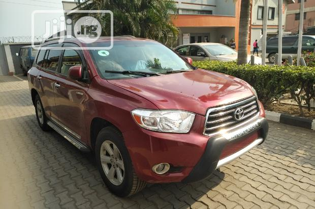 Archive: Toyota Highlander 2008 Limited 4x4 Red