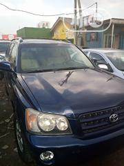 Toyota Highlander 2002 Blue | Cars for sale in Lagos State, Maryland