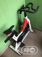 Neatly Used Workout Equipments: Bicycle, Seat Up Bench And Dumbells | Sports Equipment for sale in Lagos State, Lagos Island