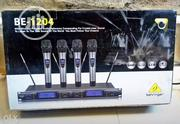 Behringer 4 In 1 Wireless Microphone Available Now | Audio & Music Equipment for sale in Lagos State, Lagos Island