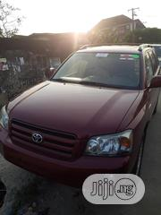 Toyota Highlander 2005 Red | Cars for sale in Lagos State, Surulere