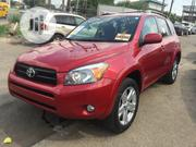 Toyota RAV4 2008 3.5 Sport Red | Cars for sale in Lagos State, Ikeja