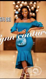 New Quality Female Offshoulder Fitted Gown   Clothing for sale in Lagos State, Amuwo-Odofin