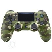 Sony Ps4 Pad- Dualshock 4 Wireless Controller Light Bar- Green Camo | Video Game Consoles for sale in Lagos State, Ikeja