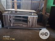 TV Stand With Glass   Furniture for sale in Lagos State, Mushin