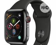Apple Watch Series 4 GPS Only 44mm With Black Sport Band - | Accessories for Mobile Phones & Tablets for sale in Lagos State, Ikeja