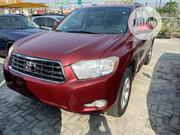 Toyota Highlander 2008 Limited 4x4 Red | Cars for sale in Lagos State, Ajah