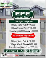 Plots of Land at Rabor Farm Estate Imokun, Epe for Sale | Land & Plots For Sale for sale in Lagos State, Epe