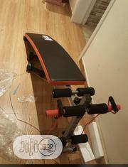 Tummy Trimmer Sit Up Bench With Stretch Band and Dumbell   Sports Equipment for sale in Abuja (FCT) State, Gwarinpa