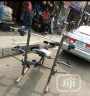Weight Bench With 50kg Barbell | Sports Equipment for sale in Lagos State, Lekki Phase 2