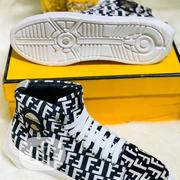 Designer White Fendi Sneaker | Shoes for sale in Lagos State, Lagos Island