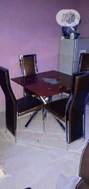 Square Dinning by 4 Chairs | Furniture for sale in Lagos State, Lekki Phase 1