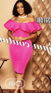 New Female Quality Pink Offshoulder Gown | Clothing for sale in Lagos State, Amuwo-Odofin