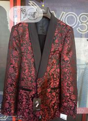 3-piece Floral Tuxedos With Black Trouser | Clothing for sale in Abuja (FCT) State, Utako