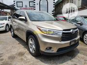 Toyota Highlander 2016 Gold | Cars for sale in Lagos State, Ikeja