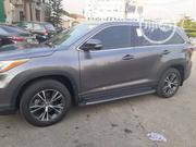 Toyota Highlander 2016 XLE V6 4x2 (3.5L 6cyl 6A) Gray | Cars for sale in Lagos State, Ikeja