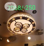 Led Crystal Chandelier Ceiling Fan , Blade Can Fold Inside | Home Accessories for sale in Lagos State, Ikoyi