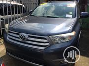 Toyota Highlander Limited 2012 Blue | Cars for sale in Lagos State, Ojodu