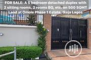 5 Bedroom Fully Detached Duplex Available at Omole Phase 1 | Houses & Apartments For Sale for sale in Lagos State, Ikeja