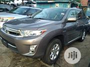 Toyota Highlander 2012 Hybrid Limited Gray | Cars for sale in Lagos State, Apapa