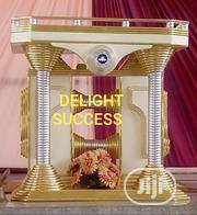 Original New Modern Golden Church Pulpit | Furniture for sale in Lagos State, Ojo