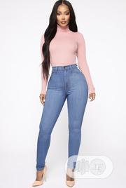 Blue Female High Waist Pencil Jeans | Clothing for sale in Abuja (FCT) State, Wuye