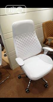 White Executive Swivel Office Chair | Furniture for sale in Lagos State, Lekki Phase 1