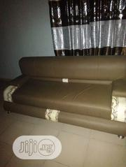 Clean Anti Sweet Leather Complete Set of Chairs | Furniture for sale in Lagos State, Ikorodu