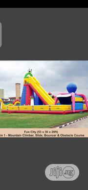 Brand New Bouncing Castle Mountain Climbers Size 53 X 30 X 28ft | Toys for sale in Lagos State, Surulere