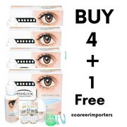 5 Set Fresh Look Contact Lens With Solution And Case | Makeup for sale in Lagos State, Lekki Phase 1