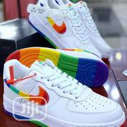 Nike Air Force1 Low (Rainbow Sole) | Shoes for sale in Lagos State, Surulere