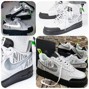 "*Nike Air Force 1 '07 Lv8•* * ""Under Construction-//* *Reflective 