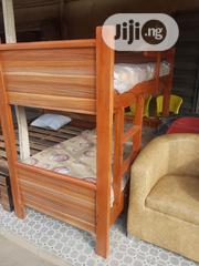 3ftx 6ft Wooding Bunk Bed and Mouka Mattress | Furniture for sale in Lagos State, Ojo