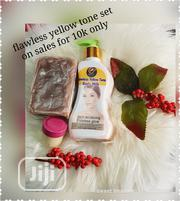 Flawless Yellow Tone Promo Set | Skin Care for sale in Lagos State, Ipaja