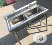Double Tank Stainless Steel Sink   Restaurant & Catering Equipment for sale in Lagos State, Ojo
