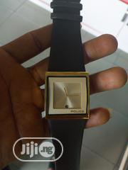 Police Leather Watch(Gold) | Watches for sale in Rivers State, Port-Harcourt